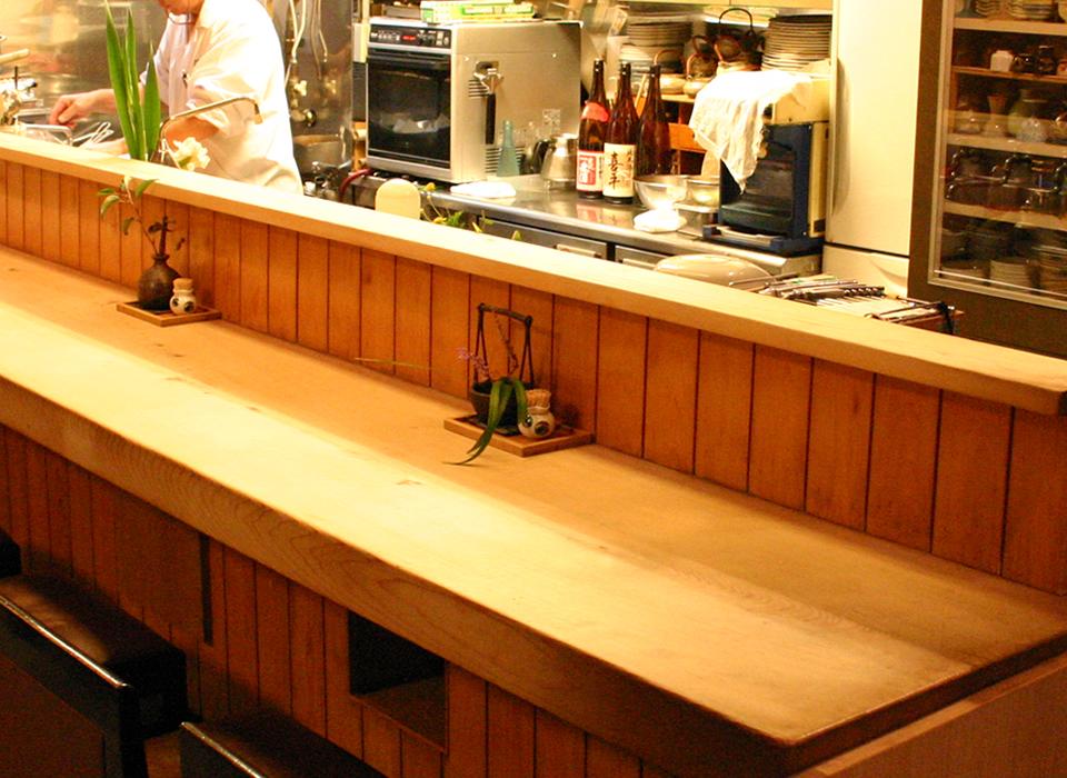 素材に合わせた調理で風味や食感を壊さない日本料理をご提供