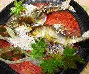 鮎塩焼 (天然)